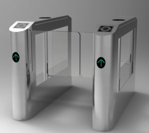 mall-subway-automated-access-control-canteen-consumption-of-stainless-steel-two-way-gates